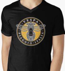 Vespa Piaggio Italia Men's V-Neck T-Shirt
