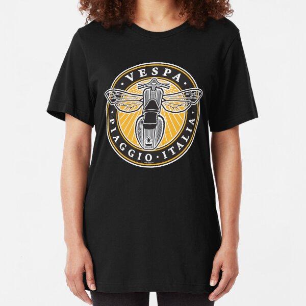 Vespa Piaggio Italia Slim Fit T-Shirt