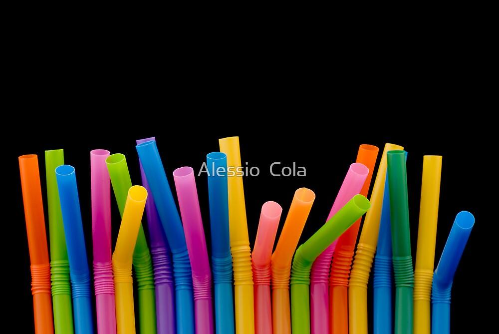 Drinking Straw by Alessio  Cola