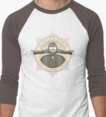 Vespa - In Tutto Il Mondo (gold) Men's Baseball ¾ T-Shirt