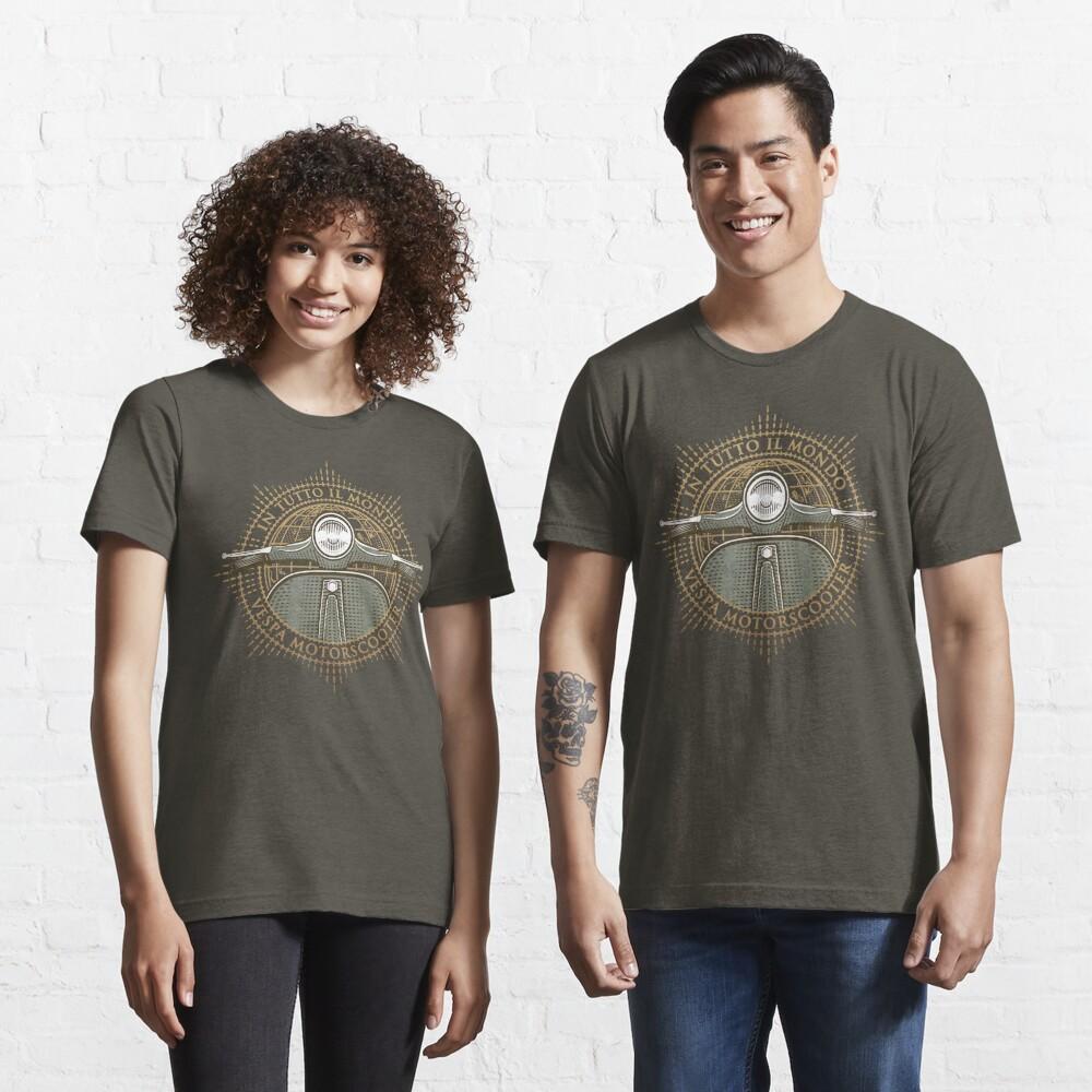 Vespa - In Tutto Il Mondo (gold) Essential T-Shirt
