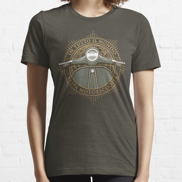 Vespa - In Tutto Il Mondo (gold) Essential T-Shirt
