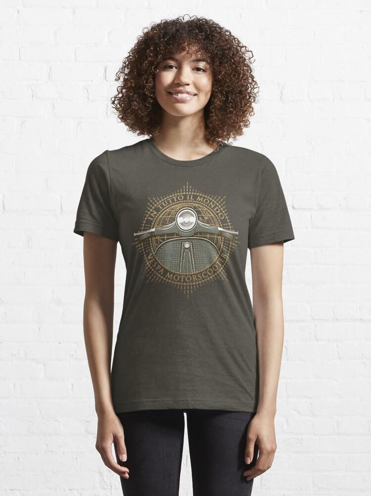 Alternate view of Vespa - In Tutto Il Mondo (gold) Essential T-Shirt