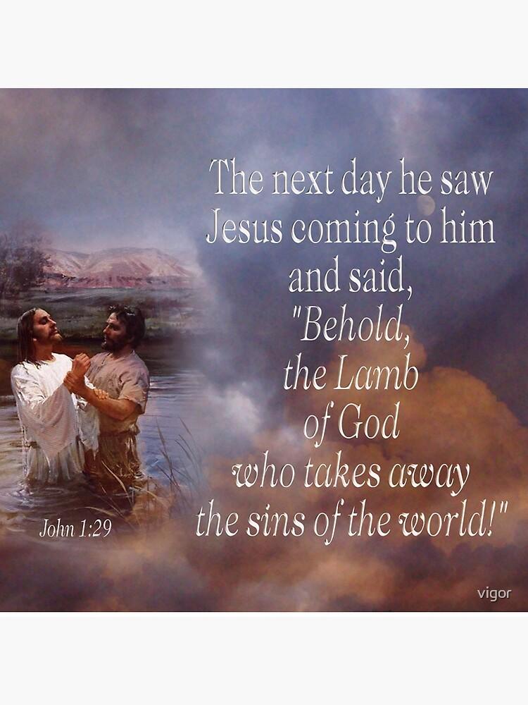 Lamm Gottes - Jn. 1:29 von vigor