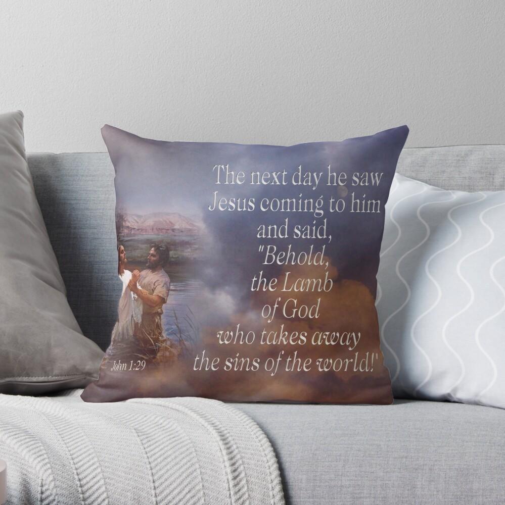 Lamm Gottes - Jn. 1:29 Dekokissen