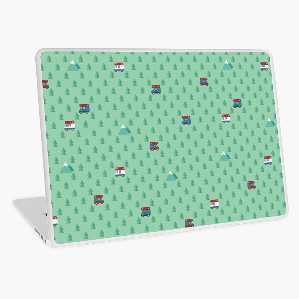 Animal Crossing pocket camp trees campers Laptop Skin