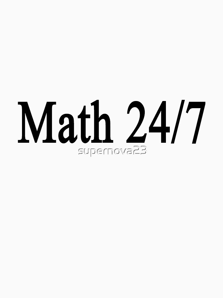 Math 24/7  by supernova23