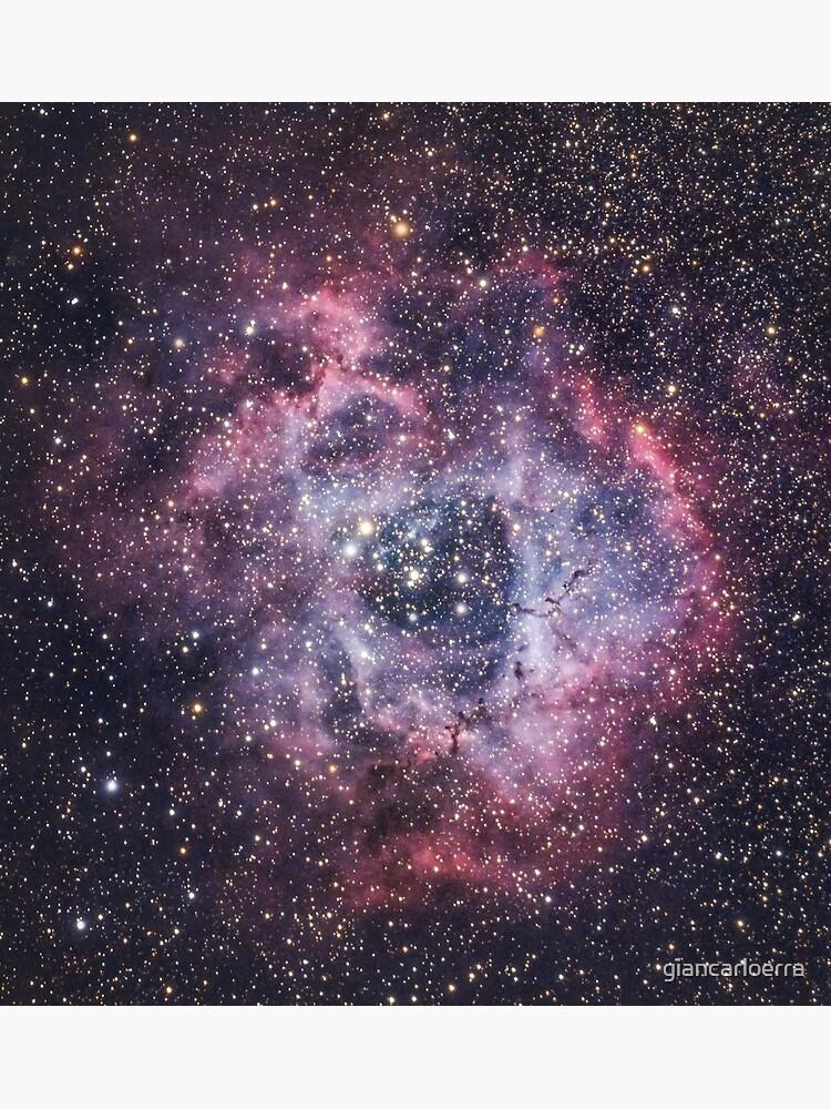 Rosette Nebula by giancarloerra