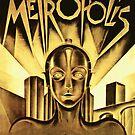 Metropolis movie poster by eddycasanta
