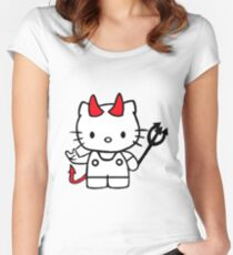 Hello Kitty Women's Fitted Scoop T-Shirt