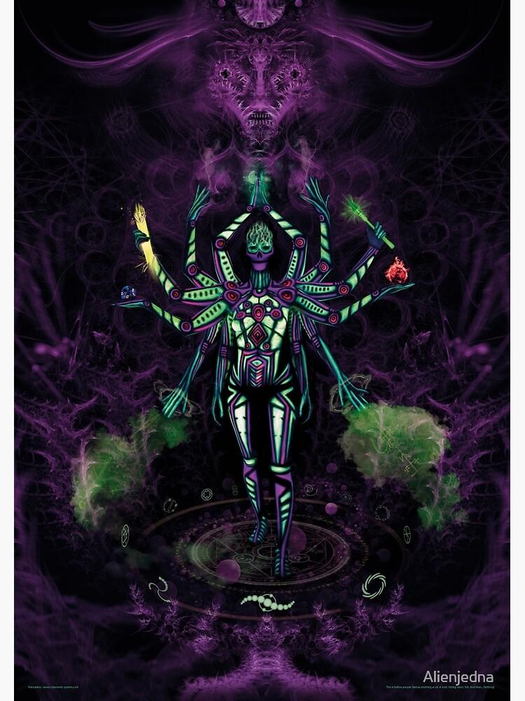 UV Goddess - Twelve handed/Fractal creator by Alienjedna
