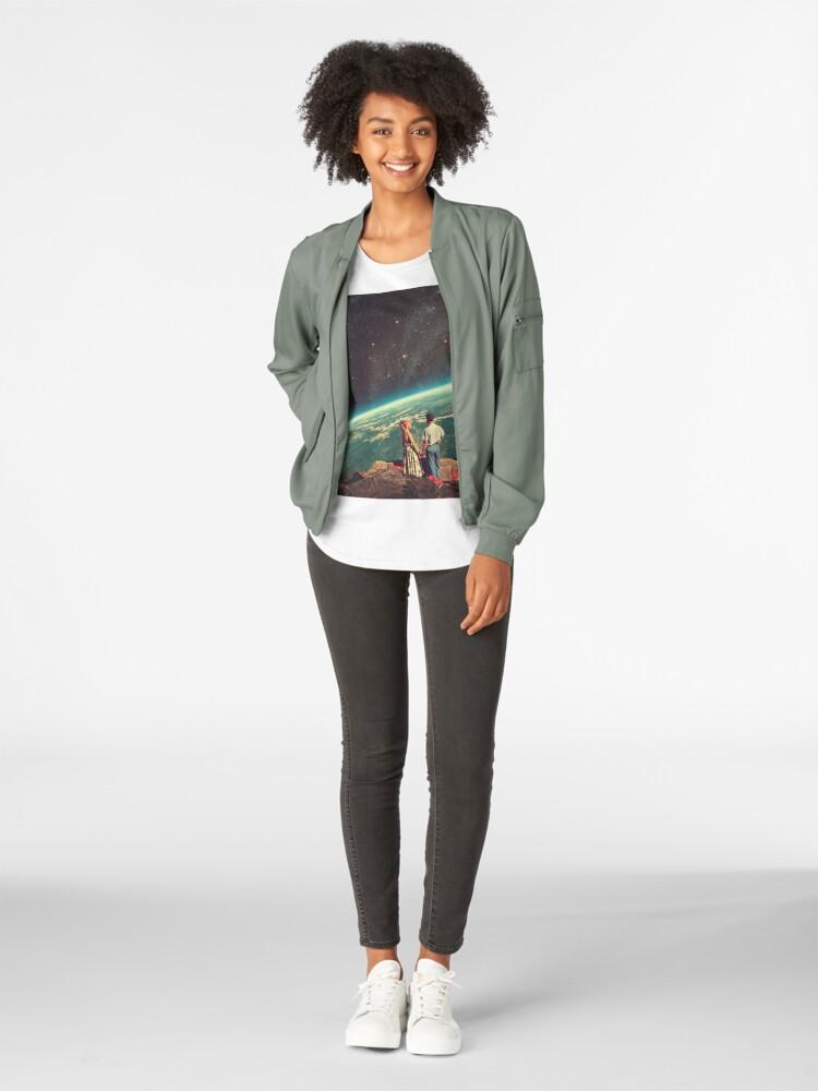 Alternative Ansicht von Liebe Premium Rundhals-Shirt