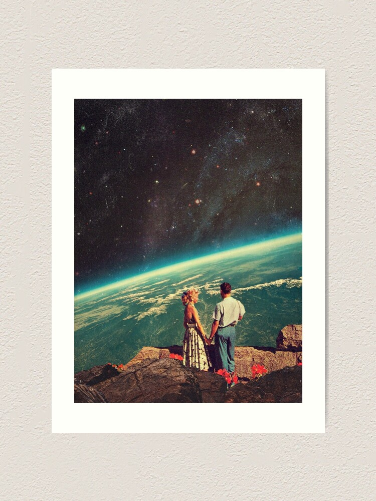 Alternate view of Love Art Print