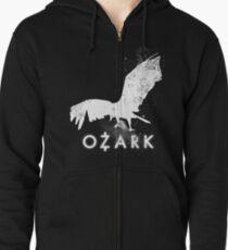 Bird over money Cover - Ozark (show) Zipped Hoodie