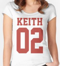 Keith Sport Jersey Women's Fitted Scoop T-Shirt