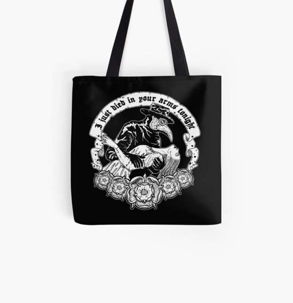 Died in Your Arms All Over Print Tote Bag