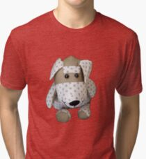 Dotty Dog Tri-blend T-Shirt