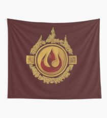 Fire Nation Admiral Wall Tapestry