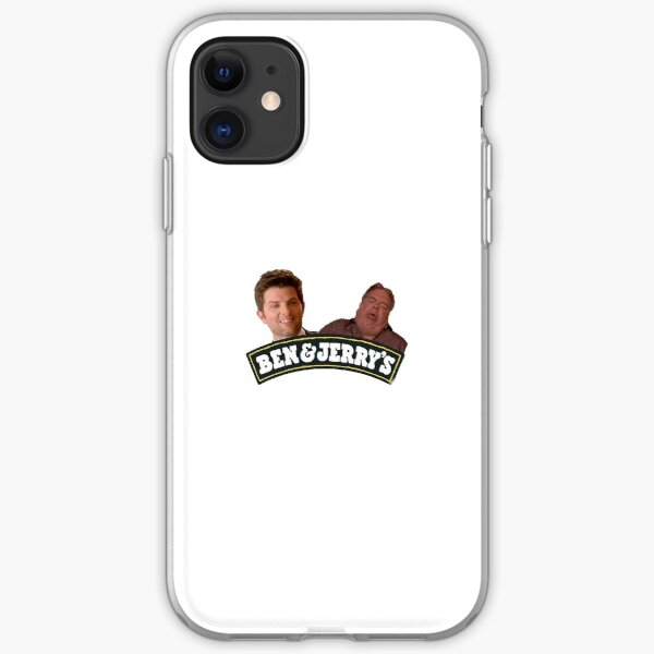 Ben and Jerry Parks and Rec. iPhone Soft Case