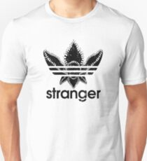 Stranger Things Adidas Black Logo T-Shirt