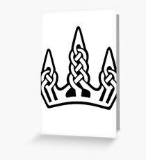 Skyrim inspired minimal print - Winterhold Greeting Card