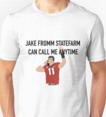 Camiseta unisex Jake Fromm StateFarm