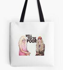 Katya Zamolodchikova and Trixie Mattel (UNHhhh) Tote Bag