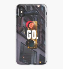 GO. iPhone Case/Skin