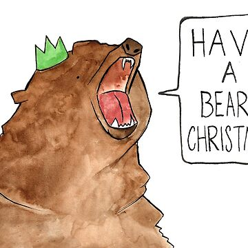 Beary Christmas by flailingmuse