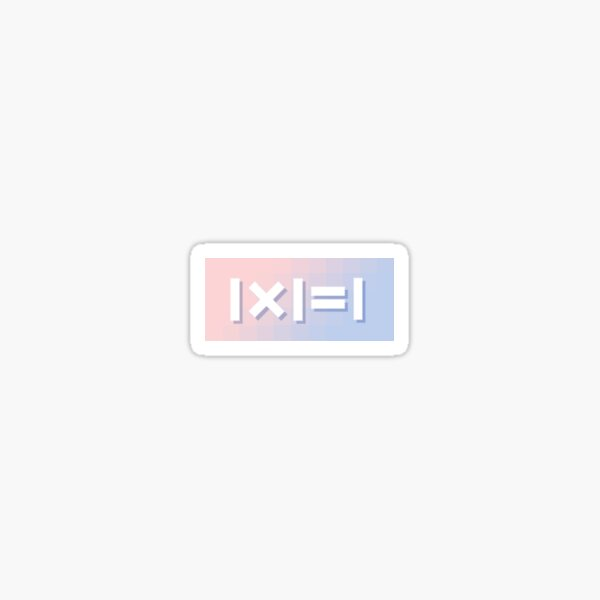 Wanna One (1 X 1 = 1) Sticker