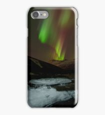 Auroral Night in East Iceland iPhone Case/Skin