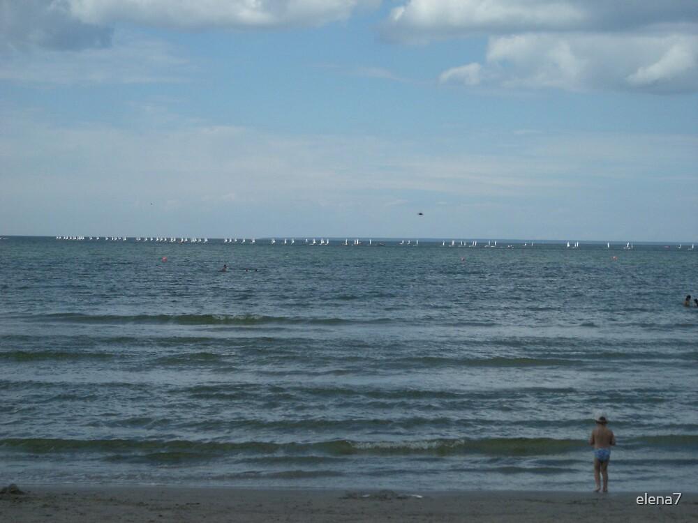 on the horizon by elena7