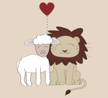 TShirtGifter Presents: The lion and the lamb