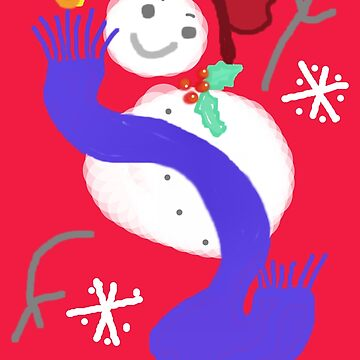 DANCING SNOWMAN  by Shoshonan