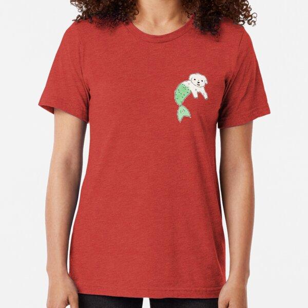 Maltipoo Merdawg Tri-blend T-Shirt