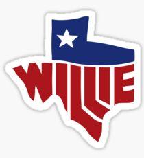 Willie's Texas Sticker