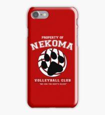 Team Nekoma iPhone Case/Skin