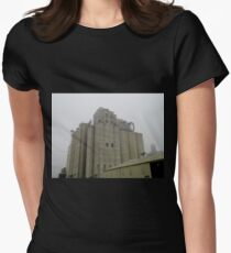Silos To The Sky Women's Fitted T-Shirt
