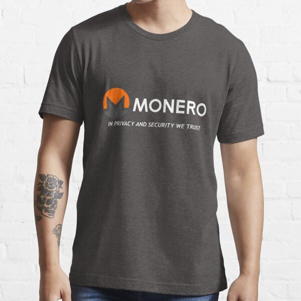Monero In Privacy and Security We Trust Essential T-Shirt