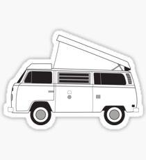 bus camper Sticker