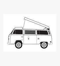 bus camper Photographic Print