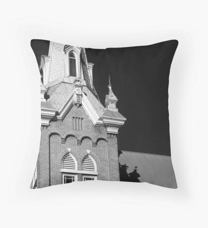 Gothic Shadow Throw Pillow
