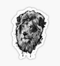 First Lion - White Eyes Sticker