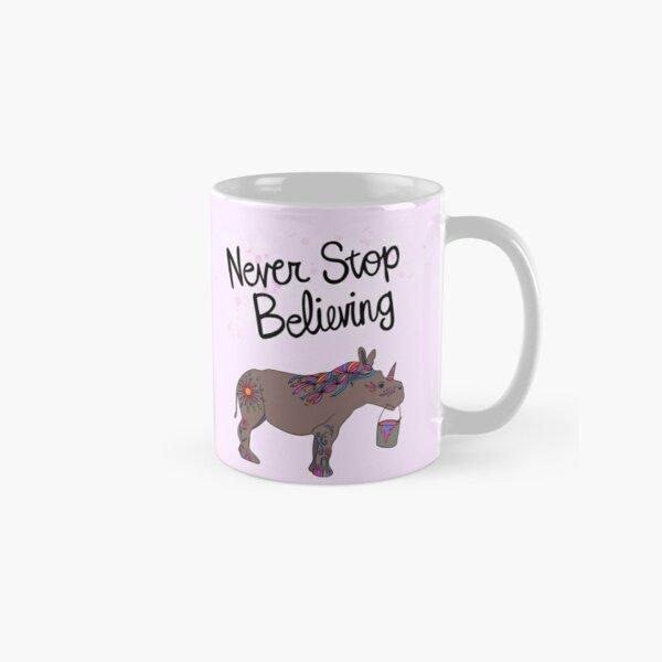 Cute Painted Rhino Unicorn Classic Mug