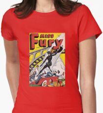 Miss Fury Women's Fitted T-Shirt