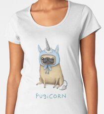 Pugicorn - Fawn Women's Premium T-Shirt