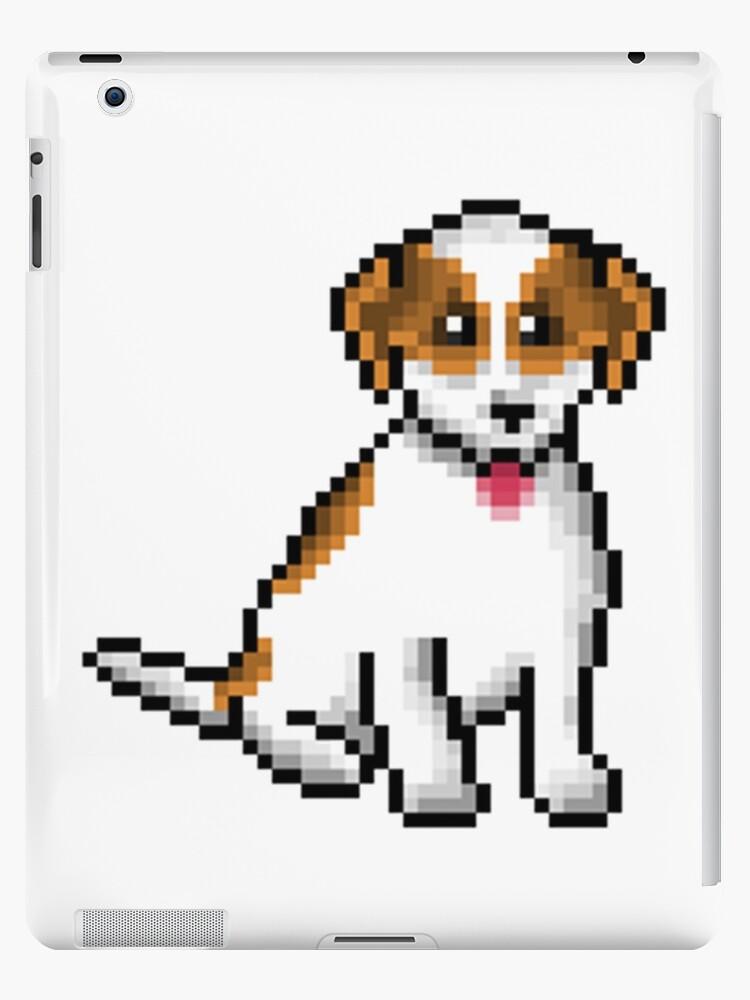 Coque Et Skin Adhésive Ipad Pixel Art Chien Chien Par Captaincassetto