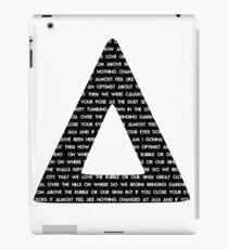 Bastille Triangle - Pompeii lyrics iPad Case/Skin