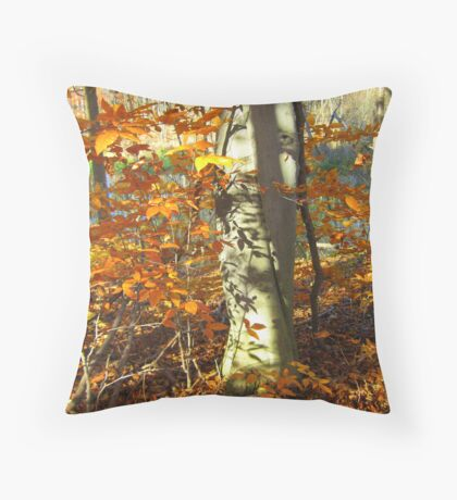 A Real Tree Relationship Throw Pillow