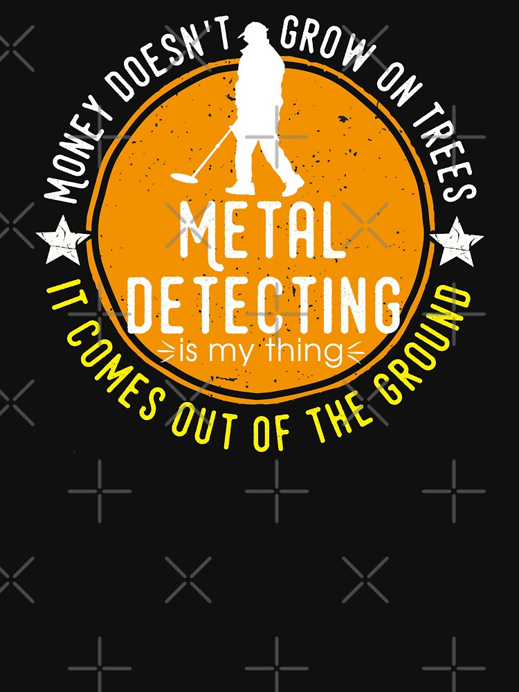 Metal detecting tshirt - great gift for treausre hunters and metal detectorists by Diggertees4u